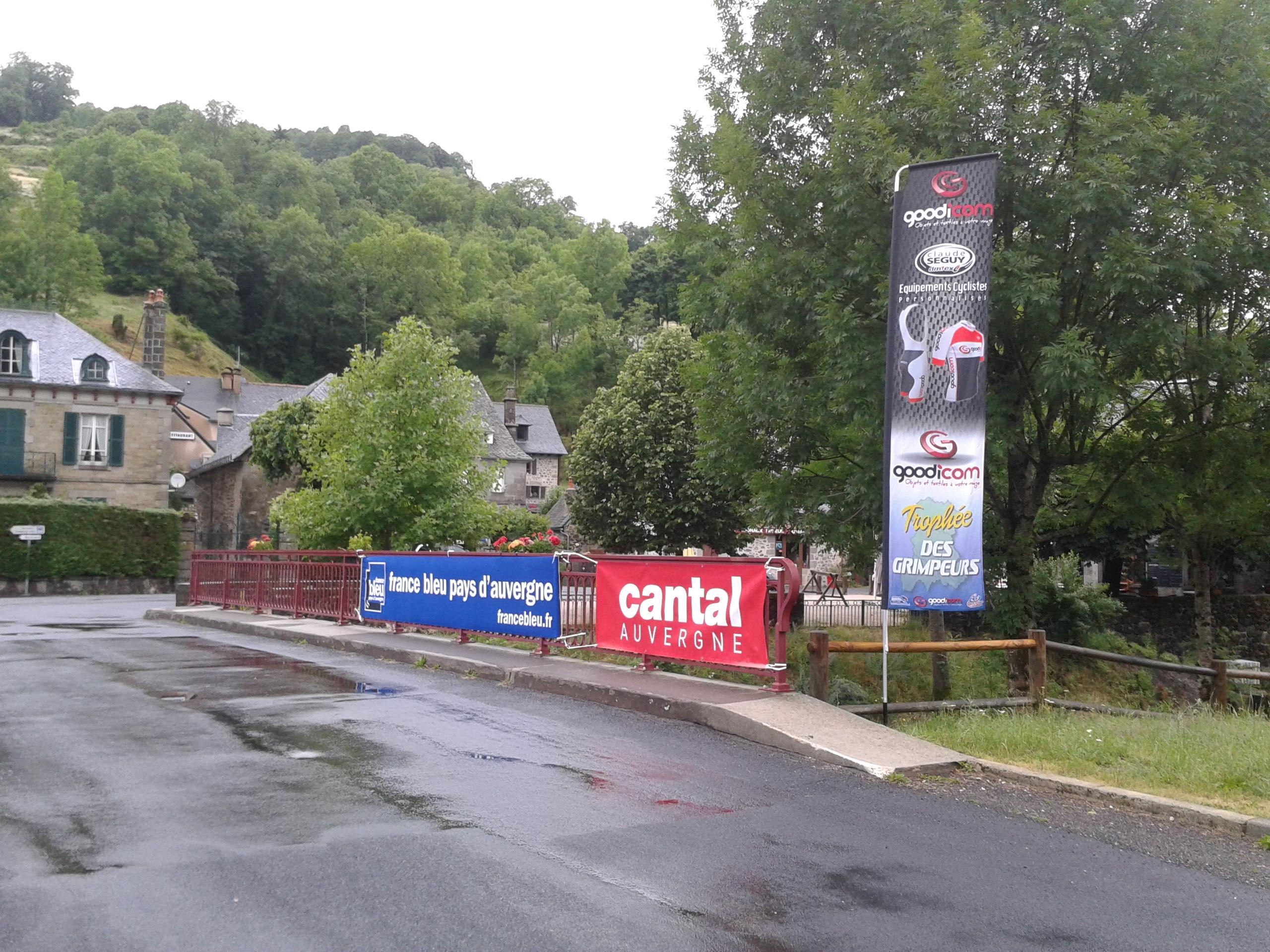 Départ de la Montée du Puy Mary - Mandailles