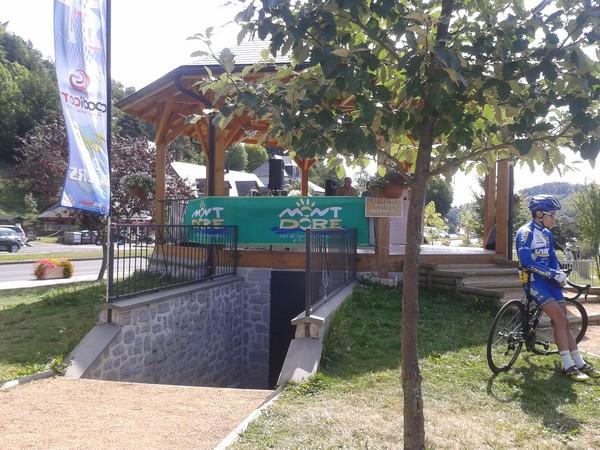Kiosque inscription et remise des récompenses - Chambon sur lac