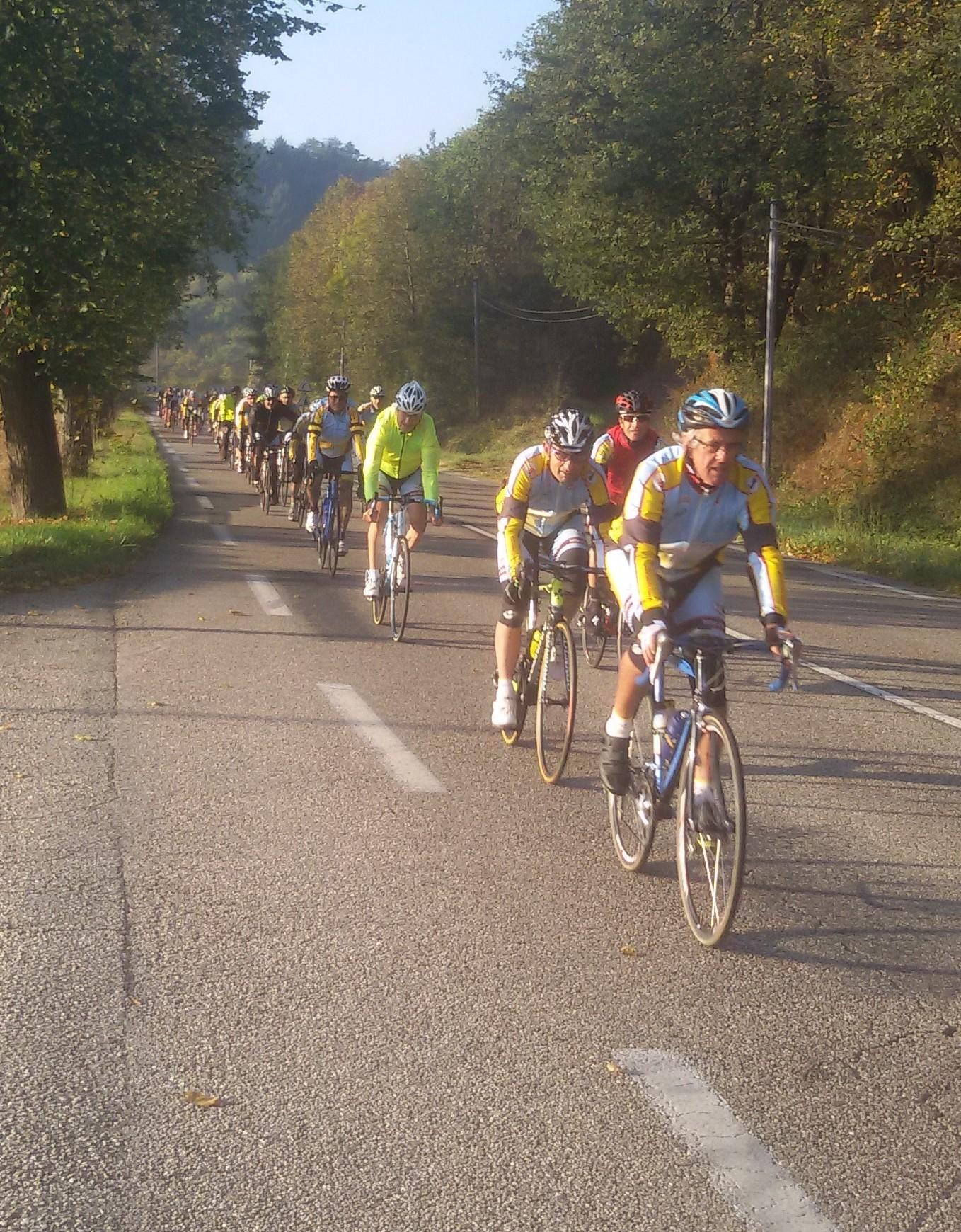 Sortie  du 15/10 de Cyclo randonneurs saint chamonais