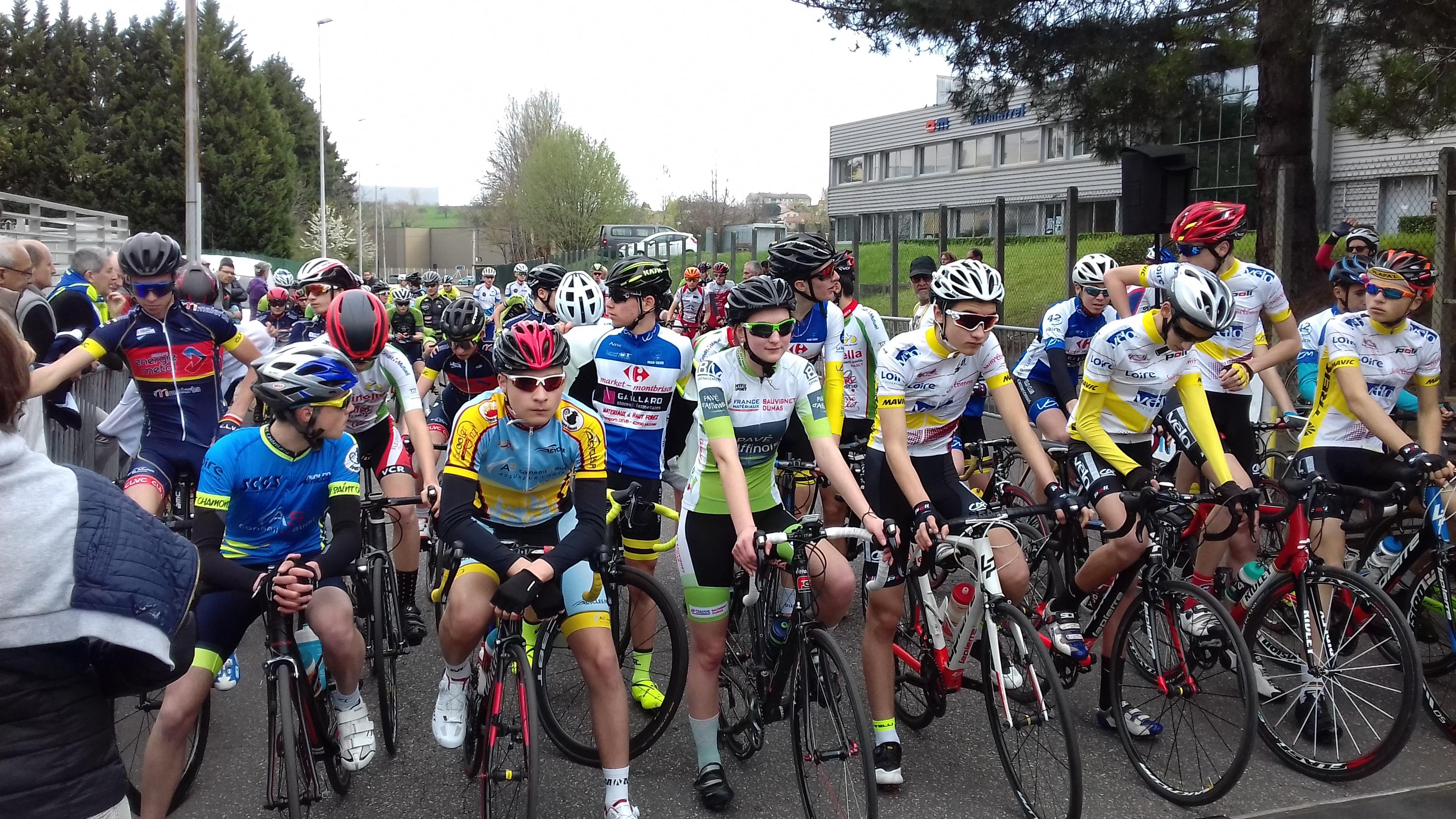 CLASSEMENTS DU GRAND PRIX DE ST CHAMOND de Cyclo randonneurs saint chamonais