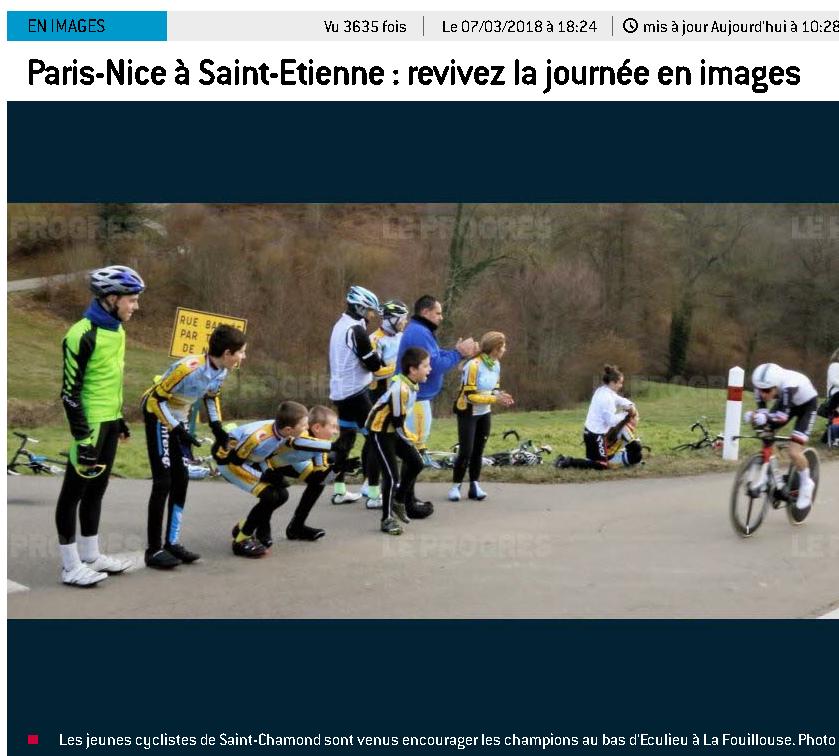 L'EDJ sur le Paris Nice 2018