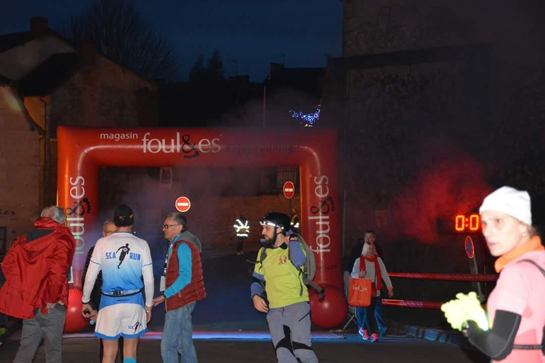 Classements Trail urbain nocturne de la Cité de l'Ecrit