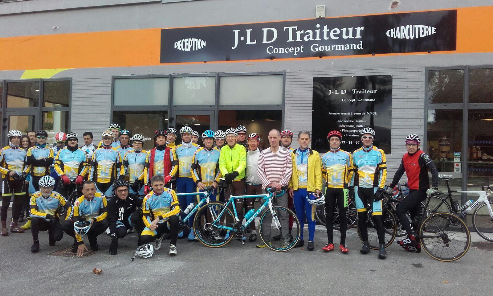 Sortie du 29/10/2017 de Cyclo randonneurs saint chamonais