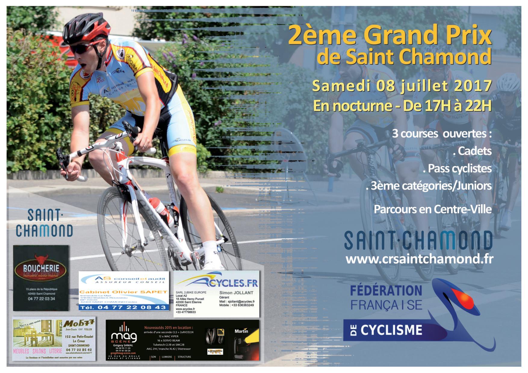 Grand prix de St Chamond à St Chamond