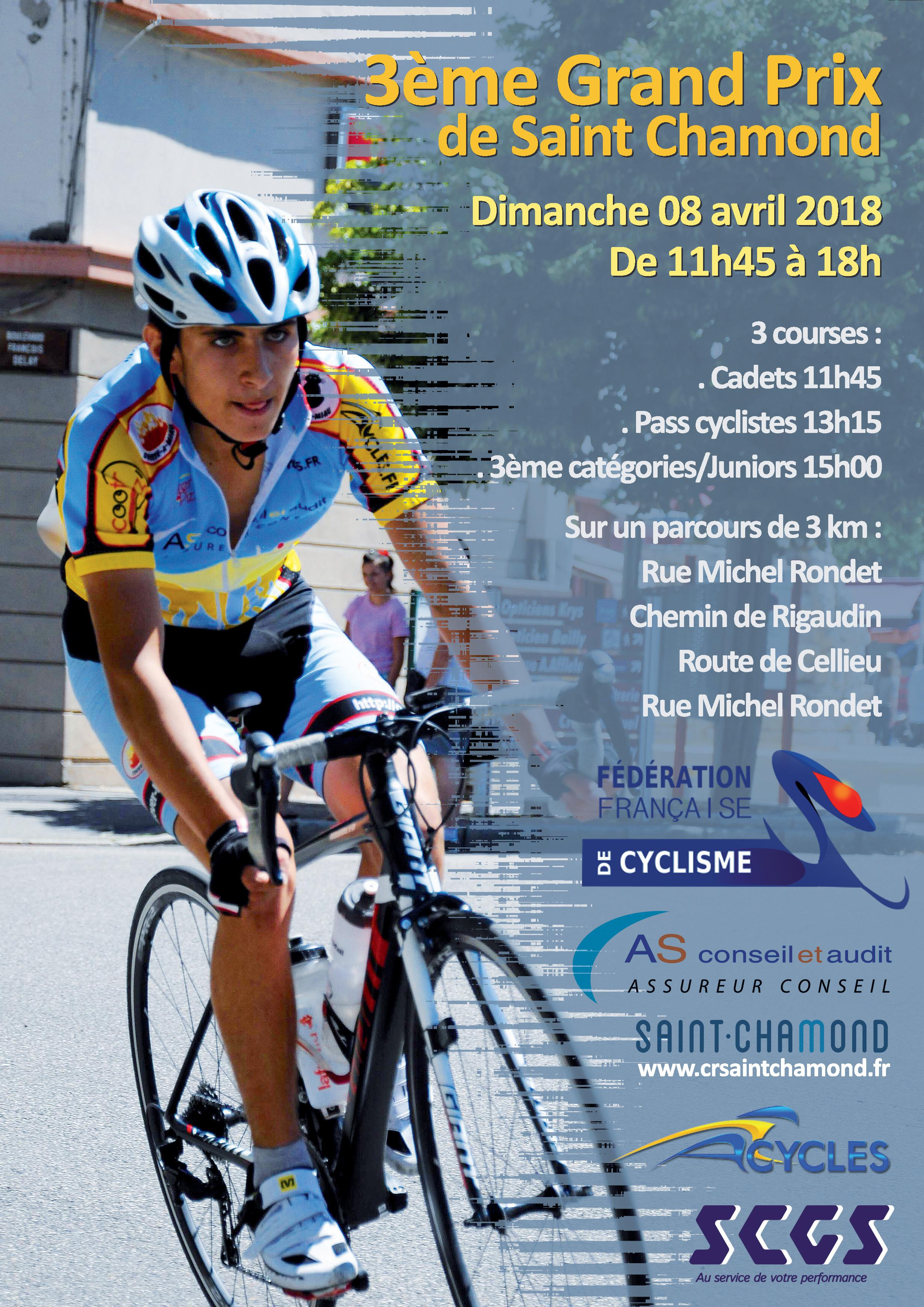 GRAND PRIX DE ST CHAMOND